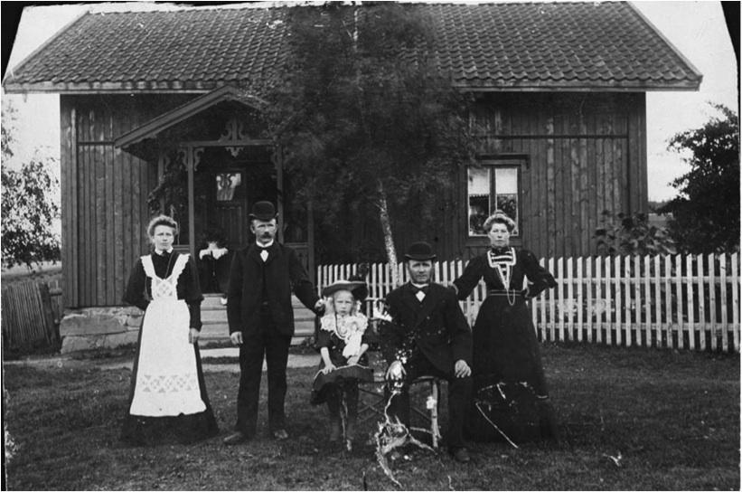 Nedre Enderud gård ca 1905