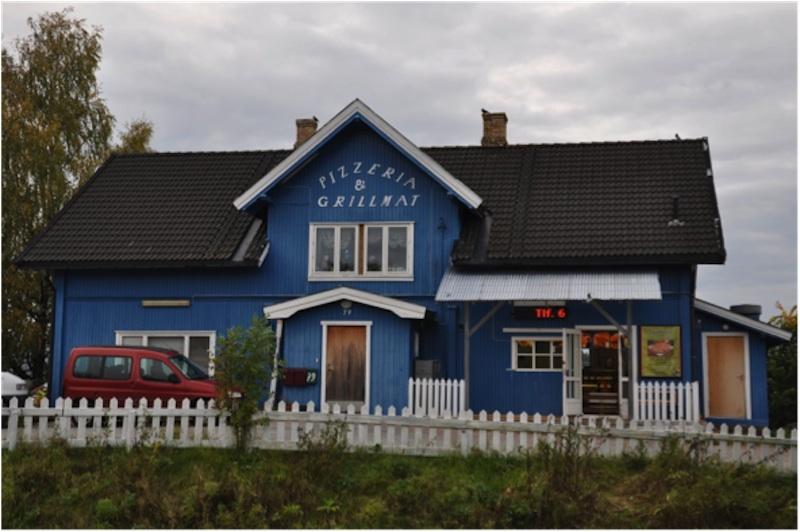 Hovedhuset på gamle Østersund gård