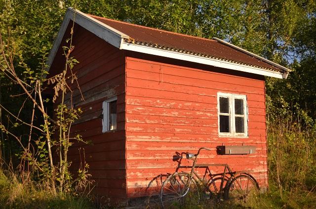 Kroken vaktbu under gården Blæsa, Gan, Fet - foto: Bente Arnesen